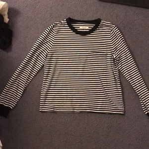 Madewell Long Sleeve Striped Shirt